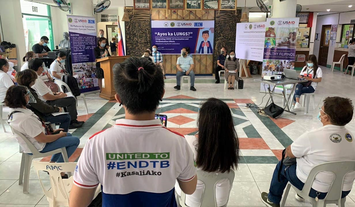 DOH, USAID, Pateros kick off local National Lung Month Celebration