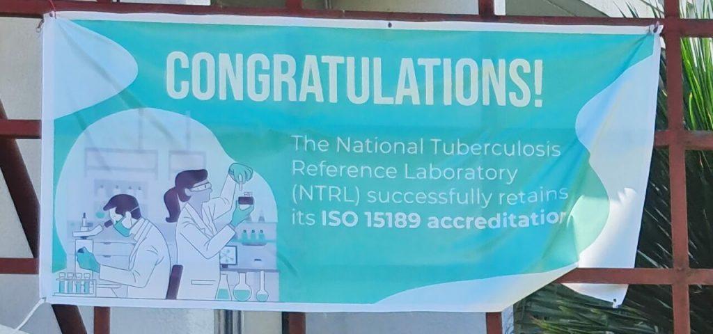 NTRL retains ISO 15189 accreditation